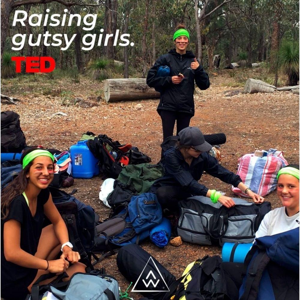 Raising gutsy girls TED talk