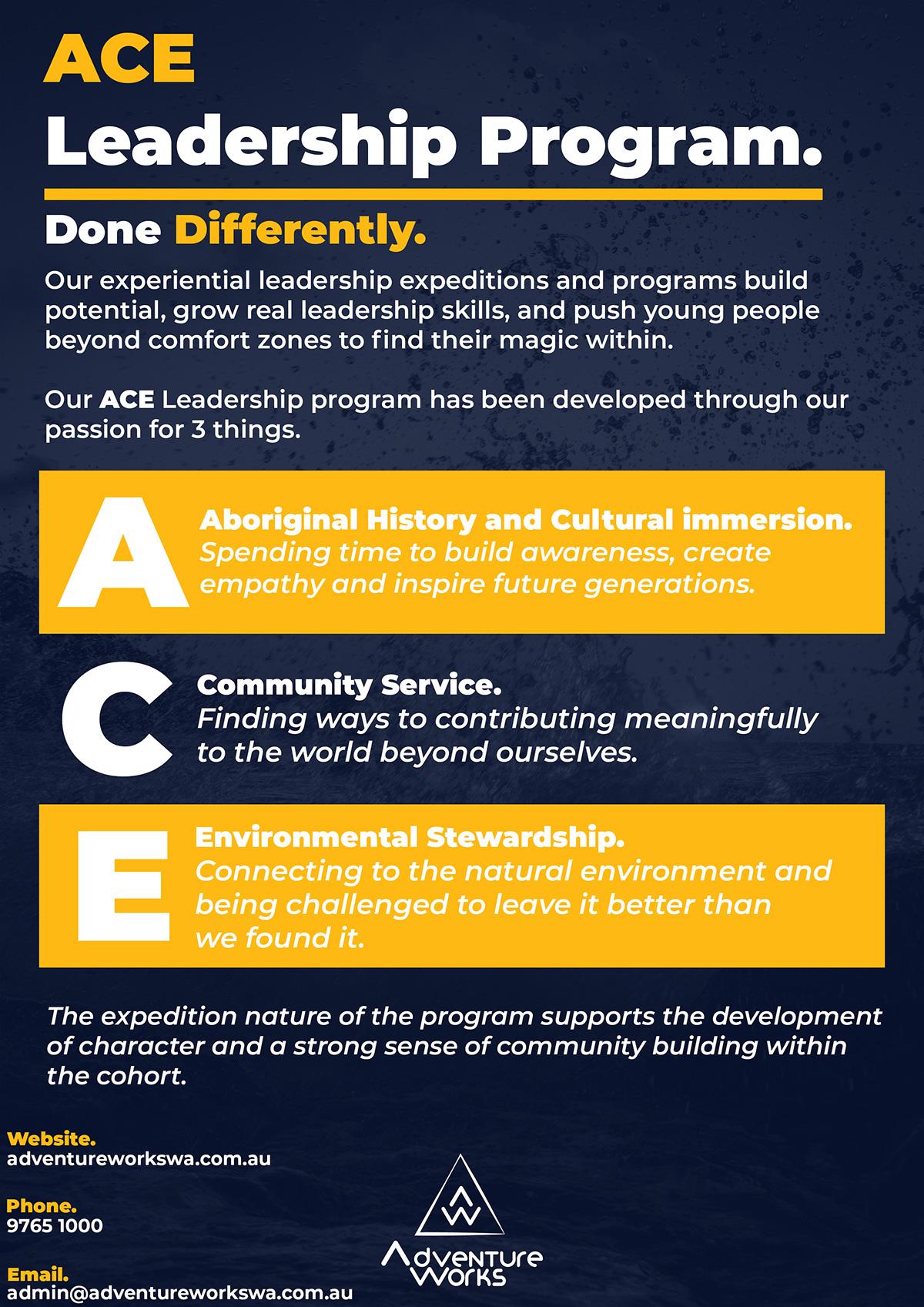 ACE Leadership Adventure Works WA, Kimberley, South West and Perth. #kimberley #leadership #adventure